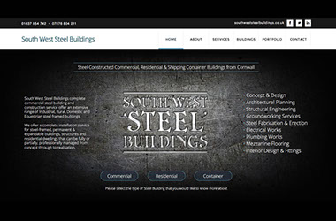 Invisible Inc. Web Design and Graphic - southweststeelbuildings.co.uk